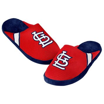 St. Louis Cardinals Jersey Mesh SLIDE SLIPPERS New -   - MLB