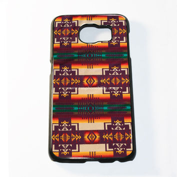 Pendleton Maroon Chief Samsung Galaxy S6 and S6 Edge Case