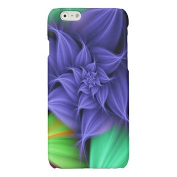 pretty colored floral abstract case