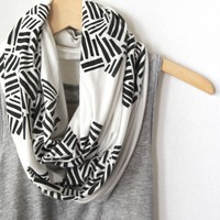 Crosshatch Infinity Scarf (More Colors) | BRIKA - A Well-Crafted Life
