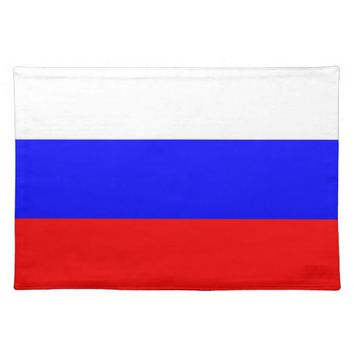 Russian Flag on MoJo Placemat