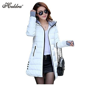 1PC 2017 Winter Jacket Women Cotton Padded Coat Parkas For Womens Winter Jackets And Coats Q007
