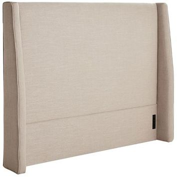 Owen Tufted Queen Headboard - Stone