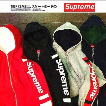 VONERE1 Supreme Contracted Hooded Sweater (4-Color)