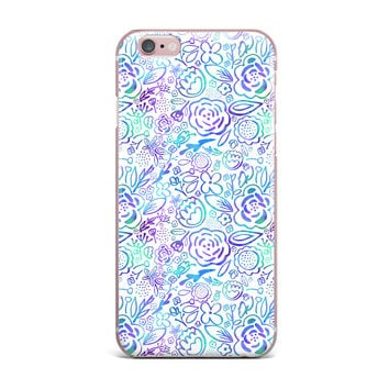"Noonday Design ""Floral Explosion"" Floral Pattern iPhone Case"