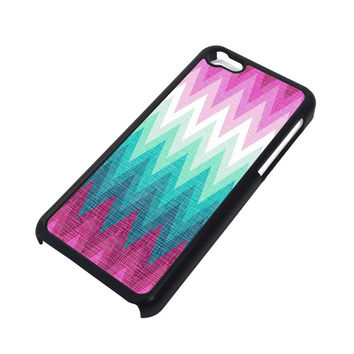OMBRE PASTEL CHEVRON Pattern iPhone 5C Case