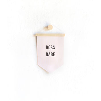 So into this design on Fab! Boss Babe Banner #FabForAll