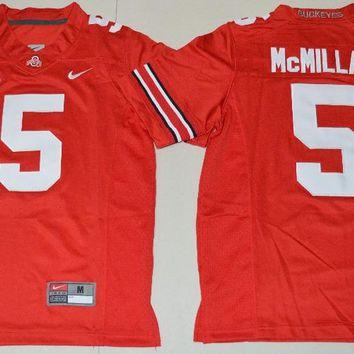 Nike Youth Ohio State Buckeyes Raekwon McMillan 5 College Ice Hockey Jerseys - Red Size S,M,L,XL