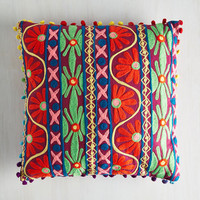 Boho Entertainment Delight Pillow by ModCloth