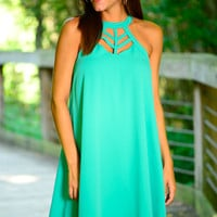 Great Escape Dress, Jade