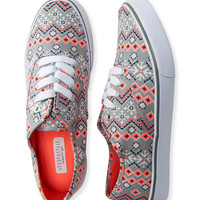 Fair Isle Low-Top Sneaker