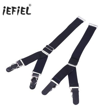 Straight Style & Y Style Elastic Garter Belts Corset Holders Stockings Fastener Suspender with Duck-Mouth Metal or Plastic Clip