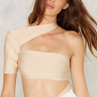 BOSSA Band I Am Telling You Strappy Bodysuit