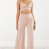 BABY FACE FITTED PALAZZO PANT