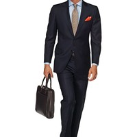 Suit Blue Plain London P2529e | Suitsupply Online Store