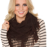 Mercy Infinity Scarf - Brown