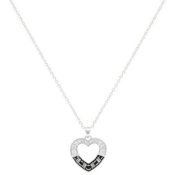 Montana Silversmith Barbed Wire Heart Necklace NC3059