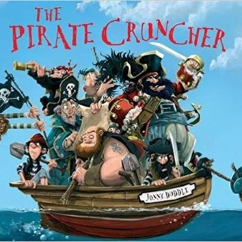 The Pirate Cruncher (Jonny Duddle) Board book – September 8, 2016