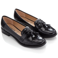 Emma Tassel Loafers | Black | Accessorize