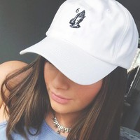 New Hot Drake 6 God Ball Cap Embroidered Praying Hands Baseball Caps Adjustable Sports Snapback Sun Hat Golf Hats Skateboard Strapbacks
