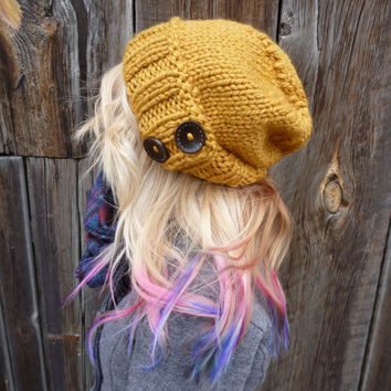 Ready to ship The Antoinette Slouch In Mustard by Nolie9238