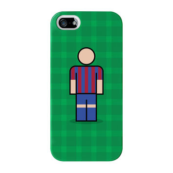 Barcelona Full Wrap High Quality 3D Printed Case for iPhone 5 / 5s by Blunt Football European