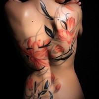 Female Back Tattoos - Inked Magazine
