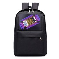 Girls bookbag Smart Backpacks Women 2018 Voice Changer Flash Backpack Laptop Bookbag for Boys Ladies Rucksacks School Bags for Teenage Girls AT_52_3
