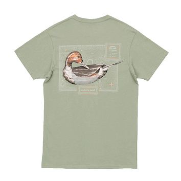 Vintage Decoy Pintail Tee in Bay Green by Southern Marsh