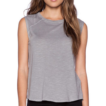 Feel the Piece Shields Tank in Gray