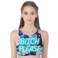 B Please halter bikini top