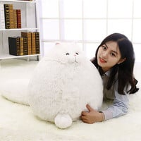 Fat Pet Cats Persian Cat Toys Pembroke Pillow Plush Toys Soft Stuffed Animal Plush Dolls Simulation Peluches Gifts Kids WW108