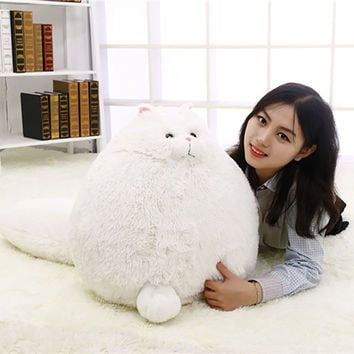 Fat Pet Cats Persian Cat Toys Pembroke Pillow Plush Toys Soft