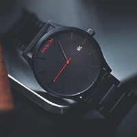 2016 New Luxury Brand Quartz Watch Men Waterproof Sports Montre Male Business Clock Black Watch Stainless Steel Dress Watch