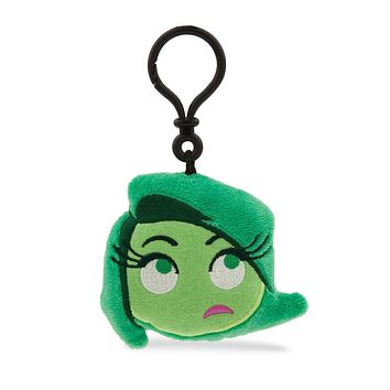 Disney Disgust Emoji Plush Backpack Clip Inside Out New with Tags