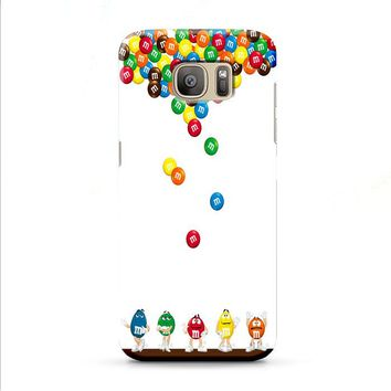 M&M's Candies Fall Samsung Galaxy J7 2015 | J7 2016 | J7 2017 case