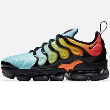 Nike Air Vapormax Plus Triple Running Sneakers Sport Shoes Mint green Orange