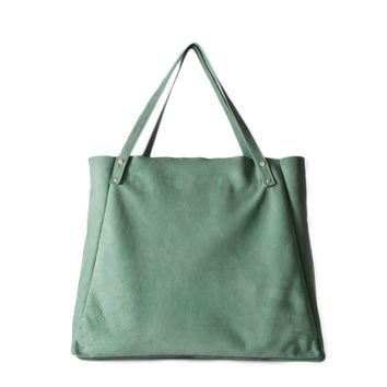 L'Epicier Suede Leather Bag | American Apparel