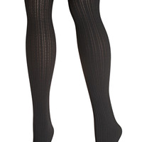 Cableknit Tight-Plus Size Tights-Avenue