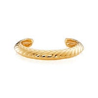 Pangolin Armour Bangle in 18 ct Yellow Gold - Patrick Mavros