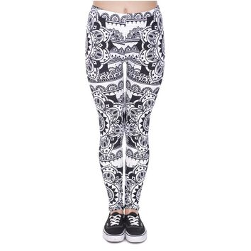 Mandala Tattoo Leggings