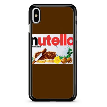 Nutella Bottle iPhone X Case