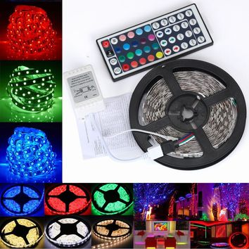 5M 3528 RGB LED Strip Strip Lights SMD Lights String Lights Lamp Dropshipping 2018 Car-styling Decor Ornaments