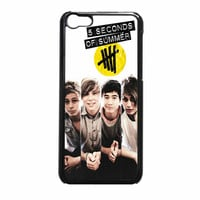 5Sos Band Poster Collage iPhone 5c Case