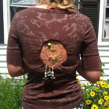 Arrow fade out Dreamcatcher shirt by Handspunhomegoods on Etsy