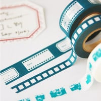 Movie Reel Masking Tape Set