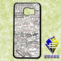 Tyler Oakley Floral Collage 4352 case For Samsung Galaxy S3/S4/S5/S6 Regular/S6 Edge and Samsung Note 3/Note 4 case