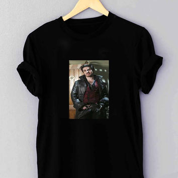 "Colin O Donoghue Once Upon A Time Captain Hook Killian Jones - T Shirt for man shirt, woman shirt ""01"""