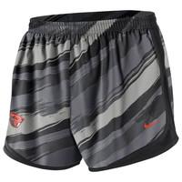 Nike Oregon State Beavers Ladies Seasonal Painter Shorts - Black