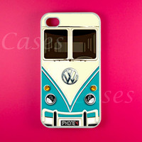 Iphone 4 Case - VW Minibus Teal Iph.. on Luulla